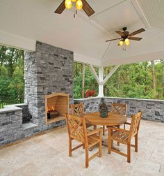 #stone is used to make this neat space #ultra EP Henry http://www.ultraoutdoors.com/photos/patios-concrete-pavers/