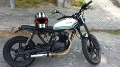Honda CB250 scrambler