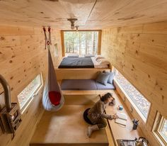 Tiny houses for rent, tiny house on wheels, little houses, innovation lab, Tiny Houses For Rent, Tiny House On Wheels, Little Houses, Tiny House Movement, Getaway Cabins, Micro House, Tiny House Living, Tiny House Design, House In The Woods