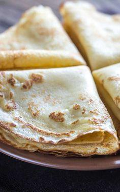 Crepe Cake, Portuguese Recipes, Food Cravings, Waffles, Deserts, Good Food, Cooking Recipes, Eat, Breakfast