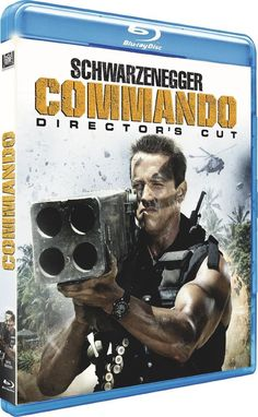 Commando  Director s Cut  - BLU-RAY