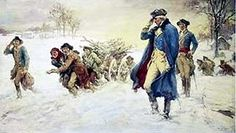 December 1777 With the British occupying Philadelphia just 20 miles away, the Continental Army enters winter quarters at Valley Forge, Pennsylvania. During the winter, supply arrangements will be improved and the Continental troops will be drilled and emerge as a more disciplined, unified fighting force.
