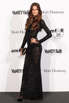 Black Lace gowns.