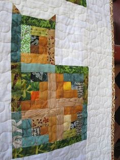 Log Cabin Cat Quilt