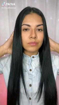 Easy Hairstyle Video, Easy Hairstyles For Long Hair, Braided Hairstyles, Hair Streaks, Hair Highlights, Color Streaks, Short Grunge Hair, Medium Hair Styles, Long Hair Styles