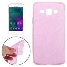 Samsung A3 Ultra dunne TPU case, cover, hoesje Magenta