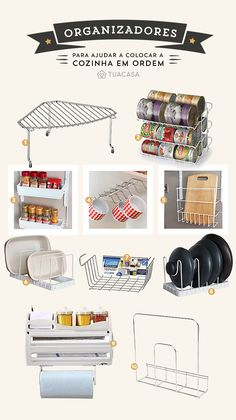 20 maneiras criativas de economizar espaço na sua cozinha