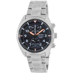 Seiko Men's SNN235 Silver Stainless-Steel Quartz Watch
