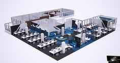 diseño oficina para la sede de OCU MADRID