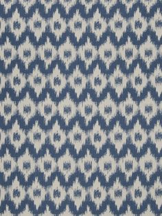 FLAMME DE FRANCE INDIGO by Fabricut