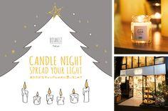 BOTANIST Tokyo Candle Workshop Poster | NEWS | BOTANIST