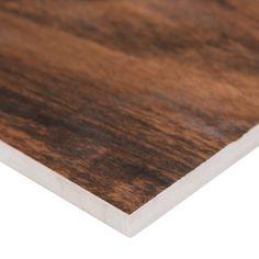 "MSI Botanica Porcelain Wood-look Tile 6"" x 36"" Porcelain Wood Tile & Reviews | Wayfair Wood Tile Floors, Wood Look Tile, Bathroom Flooring, Kitchen Flooring, Porcelain Wood Tile, Porcelain Floor, Cherry Floors, Tile Saw, Indoor Air Quality"
