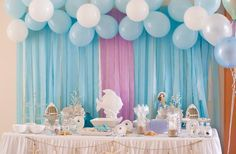 Hostess with the Mostess® - Mermaid Theme Party
