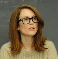 Still shot of Julianne Moore wearing FT5178 col 001 from the movie STILL ALICE