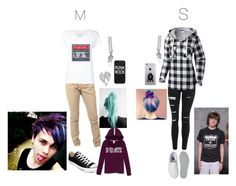 """""""Cousin/sister goals"""" by mrs-irwin-grier on Polyvore featuring Max 'n Chester, Converse, Pandora, Topshop, Columbia and Vans"""