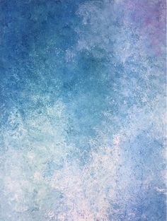 Aurora Art on Paper, Blue Art, Blue, Canvas Art, Art on Canvas, Abstract Art, Abstract, Abstract Colors.  Discover more original paintings on canvas and on paper on my website: elisacapitanio.com  #contemporary #art #modernart #blueart #modern #decor #abstract #abstractart