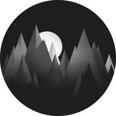 Mountain illustration by @Grain & Mortar