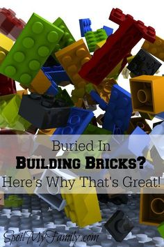 Have you tried and tried to organize LEGOs? Here's why you really may not want to organize LEGOs!