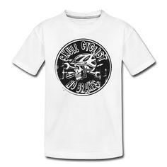 FAHRRAD, TOTENKOPF, BIKE, GESCHENKIDEE, T-SHIRT - Teenager Premium T-Shirt