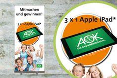 """Gewinnspielkonzept für die AOK Mittlerer Oberrhein, Zielgruppe """"jung"""""""