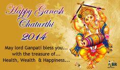 Happy Ganesh chaturthi 2014