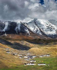 Spiti valley , Himachal Pradesh .