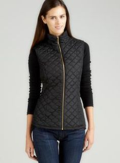 @Overstock - Product is featured in partnership with Loehmann'shttp://www.overstock.com/Clothing-Shoes/For-Cynthia-Diamond-Quilted-Zip-Front-Vest/7322428/product.html?CID=214117 $39.99