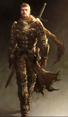 Collection of Fantasy Character Portraits (+Some steampunk) High Fantasy, Fantasy Male, Fantasy Warrior, Fantasy Rpg, Medieval Fantasy, Fantasy Artwork, Fantasy Fighter, Fantasy Character Design, Character Concept