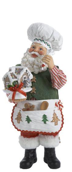 Gingerbread Making Santa