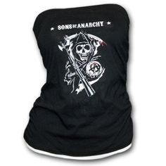 BikerOrNot Store - Sons of Anarchy - Ladies Reaper Tube Top, $18.97 (http://store.bikerornot.com/sons-of-anarchy-ladies-reaper-tube-top/)