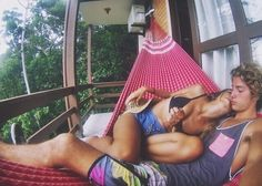 Would love to experience this....laying in a hammock with my future honey :o)