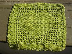 Megan's Heart . . . wash/dish cloth . . . pattern