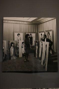 Annabel et ses portraits par Bernard Buffet