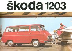 Škoda Story : Škoda 1203 Vintage Ads, Vintage Posters, Kult, Car Posters, Car Advertising, Car Makes, European Countries, Cool Trucks, Czech Republic