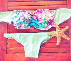 Swimwear - Flower power
