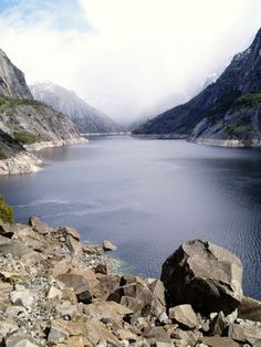 Hetch Hetchy Reservoir, Yosemite National Park, California - miles of backpacking trails that lead to majestic waterfalls, breathtaking over looks and fields of fragrant wild flowers perfect for picnics and meditation retreats.