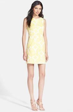 Diane von Furstenberg - 'Capreena' Brocade Sheath Dress $495.00