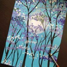 Мама школьника | Поделки | Образование | Школа Cute Easy Drawings, Art Drawings For Kids, Kids Art Class, Art For Kids, Acrylic Painting For Kids, Facebook Art, Virtual Art, Spring Art, Art Lessons Elementary