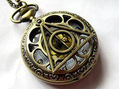 Harry Potter Deathly Hollows Pocket Watch necklace,Gl Dial Pocket Watch DANKU http://www.amazon.com/dp/B00ENL6K60/ref=cm_sw_r_pi_dp_VEuCub02PC7BC