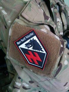 Mors Venit Velociter - insignia of Azov Foreign Legion.