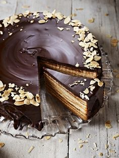 Baumkuchen | Chocolate Recipes | Jamie Oliver