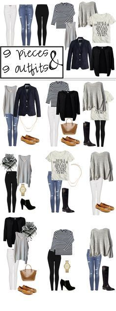 Travel Outfit Casual Summer Capsule Wardrobe Ideas For 2019 Holiday Outfits, Fall Outfits, Casual Outfits, Holiday Clothes, Dress Casual, Casual Chic, Dress Outfits, Mode Outfits, Fashion Outfits