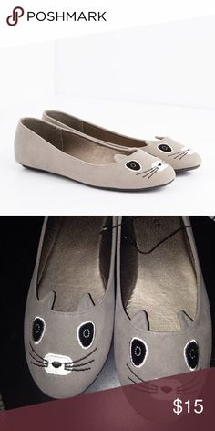 Raccoon Flats Size 7-8 from etc Etcetera Shoes