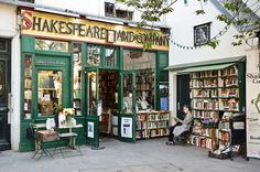 Shakespeare and Company... Tried to go when I was in Paris, but didn't have time... Next Time!!