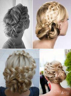 wedding braids | vancouver Wedding Blog - Inspiration - braided updo | Tutu & Fru