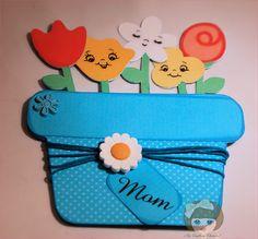 Mother's Day Flower Pot Coupons  #äitienpäivä #äitienpäiväkortti #kortti #kukkaruukku #kukka