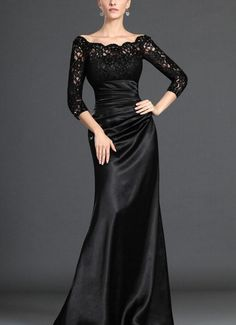 Modest Long Sleeves Formal Evening Prom gowns by Perfectdresses