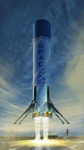 SpaceX fan art