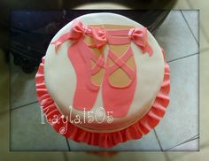 birthday cake designs with pointe shoes | Since I've started useing the Cricut for cakes, I'm surprised at how ...