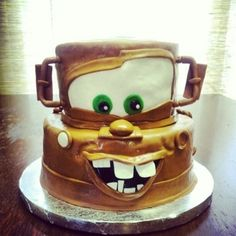 Mater By johnson1614 on CakeCentral.com